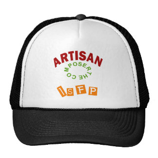 ARTISAN ISFP png Trucker Hats