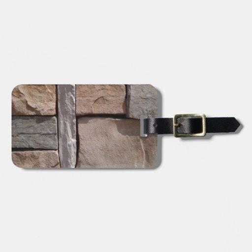 Artisan Masonry Travel Bag Tag