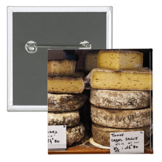 artisan regional french cheeses 15 cm square badge