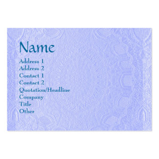 Artisan Stripes Engraved Design Business Cards