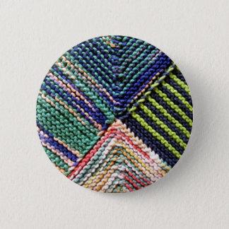 Artisanware Knit 6 Cm Round Badge
