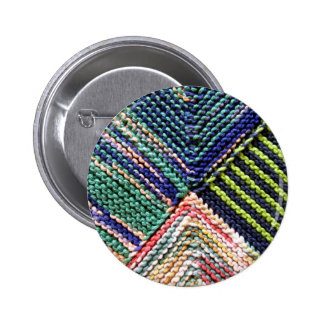 Artisanware Knit 6 Cm Round Badge