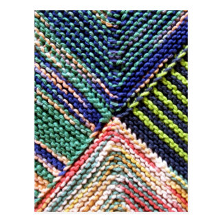Artisanware Knit Postcard