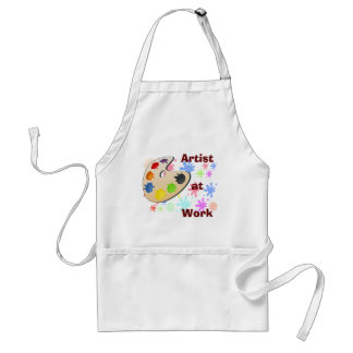 Artist at Work -- apron