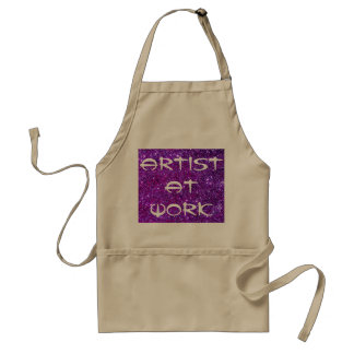 Artist At Work Apron 8 Painting Creating Art Craft Standard Apron