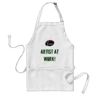 Artist At Work Art Apron