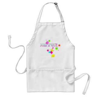 ARTIST at WORK by SHARON SHARPE Adult Apron