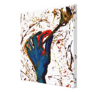 artist at work canvas canvas print