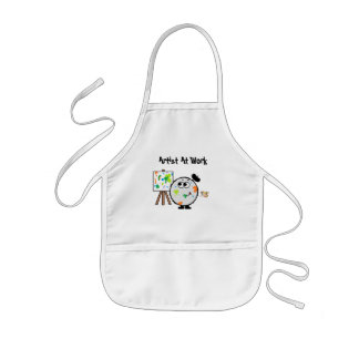 Artist At Work Weeble Apron