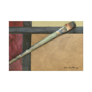 Artist Brush Canvas Print
