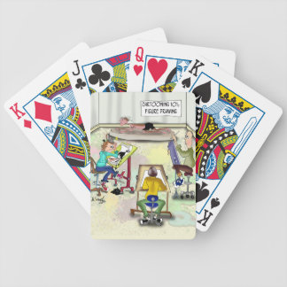 Artist Cartoon 9393 Bicycle Playing Cards