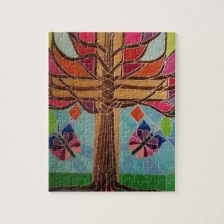 Artist Christmas Tree Jigsaw Puzzle