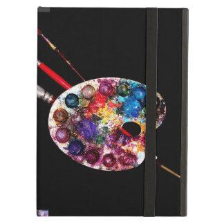 ARTIST COLOUR PALETTE MONOGRAM Black iPad Case