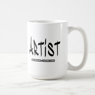 Artist cool profession undefined income coffee mug
