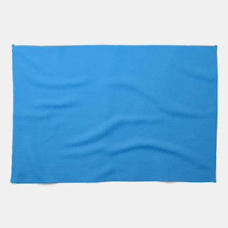 Artist Created Blue Color Shade :Add txt n image Towels