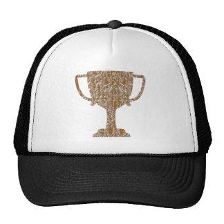 Artist Created Golden Heart: Expression Trucker Hat
