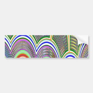 Artist created : Rainbow Ver 1 Car Bumper Sticker