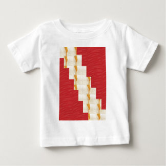 ARTIST created SILKY Color Pallet n Crystal Tiles Baby T-Shirt