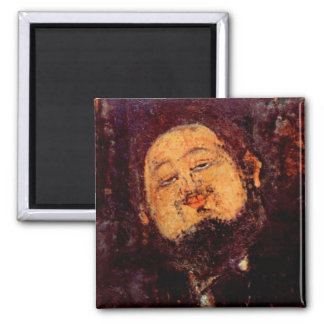 Artist Diego Rivera portrait painted by Modigliani Refrigerator Magnets