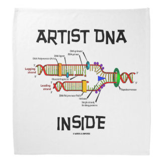 Artist DNA Inside Genes Genetics DNA Replication Do-rag