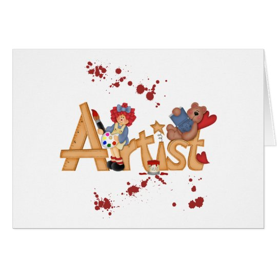 Artist Gifts Card