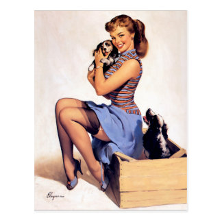Artist Gil Elvgren Postcard