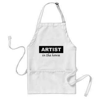 """""""Artist in the house"""" Apron"""