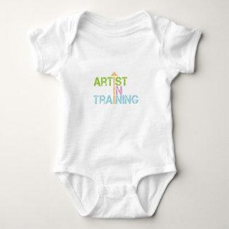 Artist in training baby bodysuit