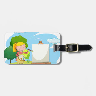 Artist Luggage Tag