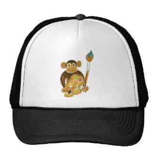 Artist Monkey Mesh Hats