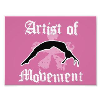 Artist of movement tumbling photo print