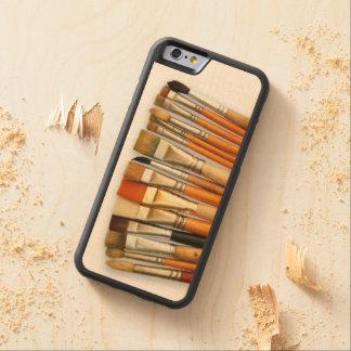 Artist Paint Brushes Maple iPhone 6 Bumper