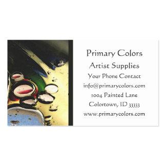 Artist Paint  Business Card Template