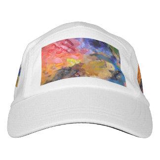 Artist Paint Color Palette Hat