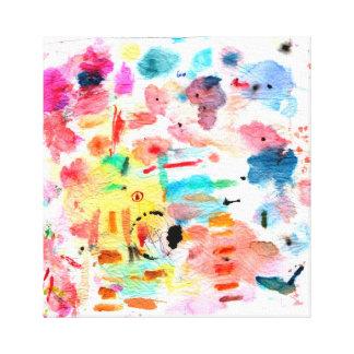 Artist Palette Canvas Stretched Canvas Print