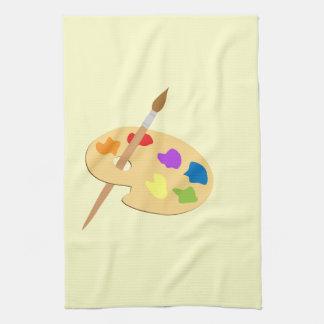 Artist Palette Kitchen Towel