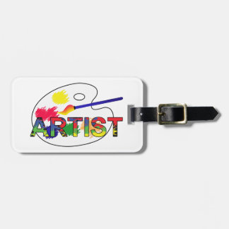 Artist Pallet Luggage Tag