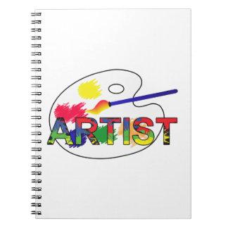 Artist Pallet Notebooks