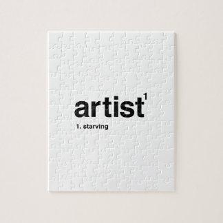 artist puzzle