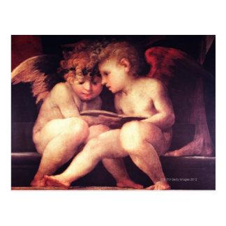 Artist:  Rosso Fiorentino, 16th Century Postcard
