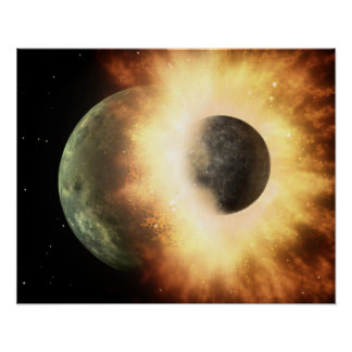 Artist s concept of a celestial body print