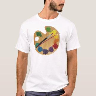 Artist`s palette colour wheel T-Shirt