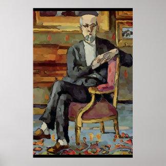 Artist Sitting Poster