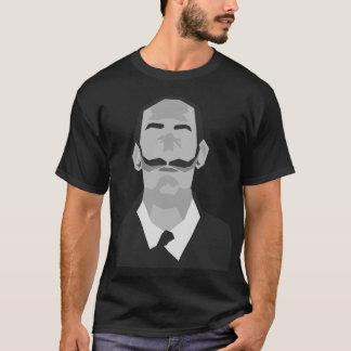 Artist T shirt of mustache