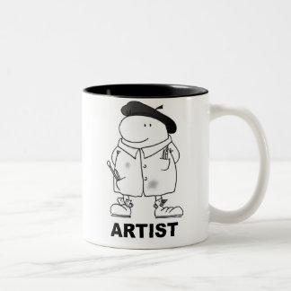 ARTIST Two-Tone COFFEE MUG