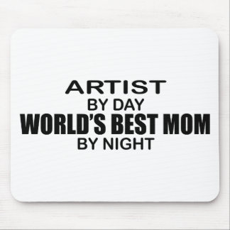 Artist - World's Best Mom Mouse Pad