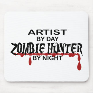 Artist Zombie Hunter Mouse Pad