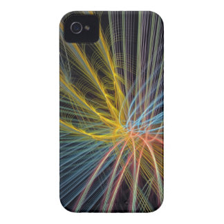 Artistic abstract case with Monogram iPhone 4 Cases