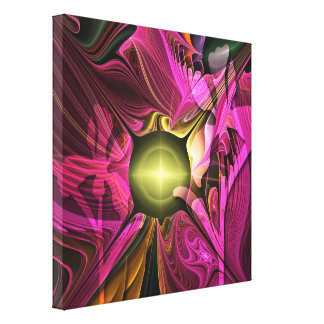 Artistic abstract Summer fantasy with Flowers Canvas Prints