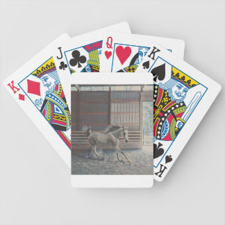 Artistic Arabian Bicycle Playing Cards